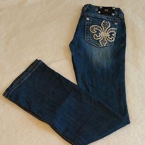 Miss Me Bootcut Jeans Sz 29 Long